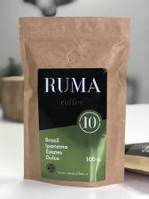 Кофе зерновой RUMA Brazil Ipanema Estates Dulce 1 кг.