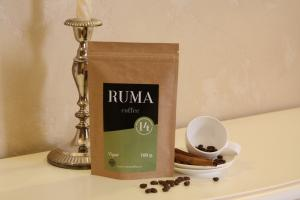 Кофе зерновой RUMA Vigor 450 гр.