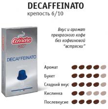 Кофе в капсулах Nespresso – Decaffeinato 10 шт.
