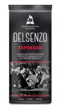 Кофе в зернах DELSENZO ESPRESSO  (обжарено вручную на дровах) пакет 1000 г