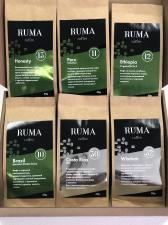 Кофейный набор пробников Ruma(6 сортов в упаковке по 50 гр)