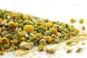 Чай Ромашка с яблоком и корицей 150 гр.