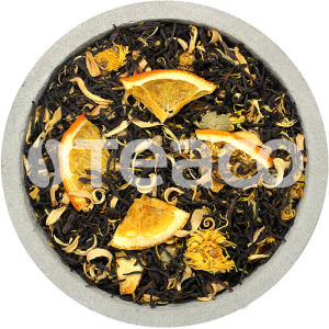 Чай Апельсин с календулой и  имбирем. 100 гр.