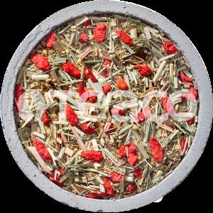 Чай Имбирь с лимонной  травой и годжи. 100 гр.