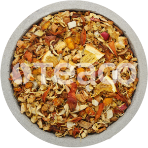Чай Облепиха с апельсином,  ананасом и яблоками. 100 гр.