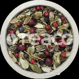 Чай Саган дайля с иван-чаем,  брусникой и  можжевельником. 100 гр.