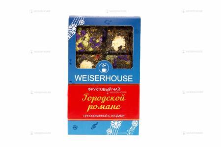 Чай WEISERHOUSE Городской романс, плитка 75 гр