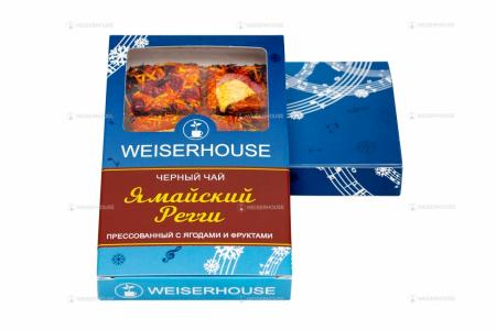 Чай WEISERHOUSE Ямайский Регги, плитка 75 гр