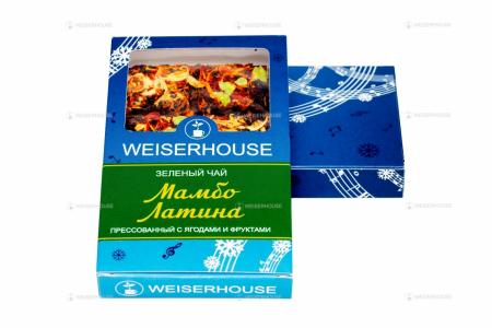Чай WEISERHOUSE Мамбо Латина, плитка 75 гр
