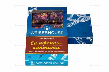 Чай WEISERHOUSE Симфония-кантата, плитка 75 гр