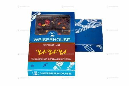 Чай WEISERHOUSE ЧА-ЧА-ЧА, плитка 75 гр